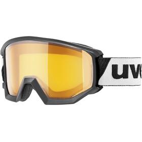 UVEX Athletic LGL Gafas, black/lasergold lite S1